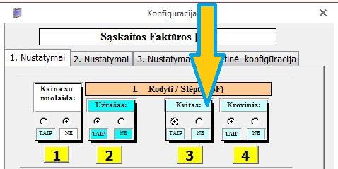 sąskaitą faktūrą-konfiguracija-Kvitas